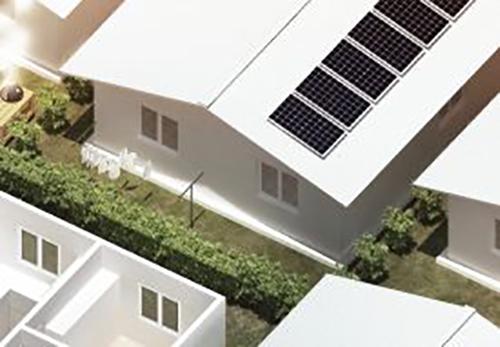 EchoStone Solar Paneling Model
