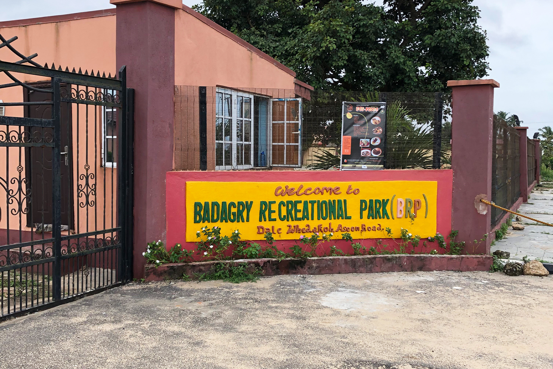 Badagry Recreational Park Entrance