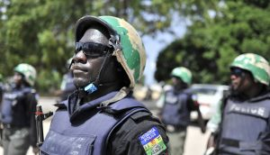 nigeria police force officer photo