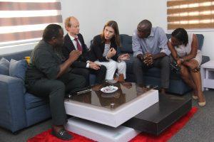 swedish ambassador visit with echostone nigeria